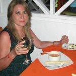 En el restaurante Italiano