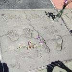 Robin William's handprint