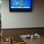 Nice televisions to watch while eating breakfast