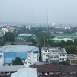 A view of Medan skyline