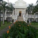 Manor House entrance, Sugar Beach, Mauritius
