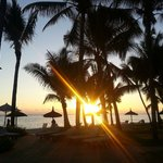 Sunset on the beach, Sugar Beach, Mauritius
