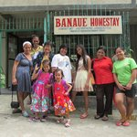 Group picture with Ate Bea at Banaue Homestay