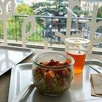 Bocal au poulet, quinoa et légumes