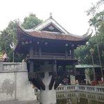 Impressive One Pillar Pagoda