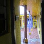 Binnenplaats Casa Galeria