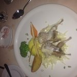 One of the delicious meals in 1 of the 4 restaurants