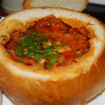 Great Soup in Bread