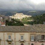 Blick von der Terrasse über Ibla