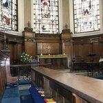 St Ann's church altar