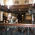 St Ann's church looking from the altar towards the back