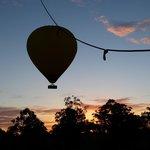 hot air ballooning Gold coast sunrise