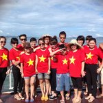 Rendezvous Team in Ha Long Bay