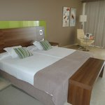 Doppelzimmer mit sehr bequemen Matratzen