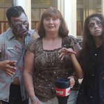 Me & Zombies, they were going to the Micheal Jackson show