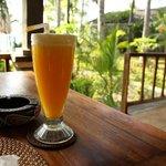 Nice drink in restaurant