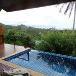 Infinity pool/sun deck