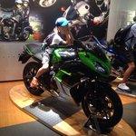 Tem varios produtos achei interessante,  pois achava que kawazaki só fabricava moto.