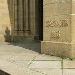 Corner Stone installed in 1863