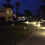 Hotel via evening