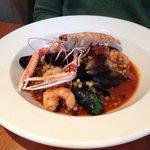 Seafood fregola.. Mmmmm.