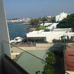 Side sea view