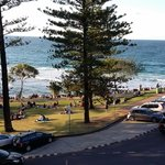 Burleigh Heads and Beach from Apt.6 2014