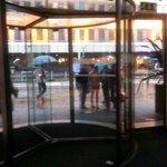 Entrance to Raddison Blu
