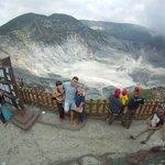 Huge crater... nice scenery