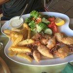 Calamaretti fritti detti moscardini