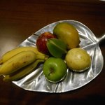 Warm welcome / fruit platter