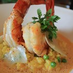 Risotto with Gambas