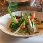 Risotto with vegetables of the day