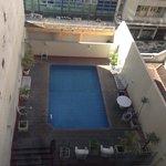 Visão da piscina da UH 703