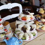 Afternoon tea at Cafe Britannia