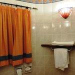 Часть  интерьера ванной комнаты