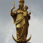 Mariensäule Monumento a Maria de año 1628