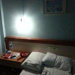 LED belysning som skapade allt annat än romantisk stämning