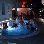 festa in piscina
