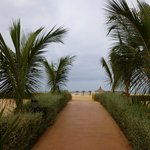 Vers la plage