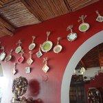 Dinning area wall