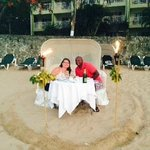 Candlelight Dinner for two on the beach!