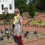 the victorian style garden