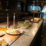 Inside Funana Restaurant at lunch