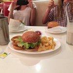 milkshakes and burgers!