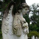 Bonaventure Angel, with a different expression from each angle.