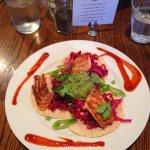 Dinner- fish tacos (yum)