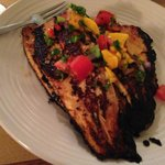 Broiled Trout with Mango Salsa - Delicious!!!
