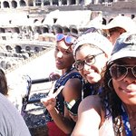 The girls! at the colosseo