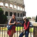 outside the Colosseo